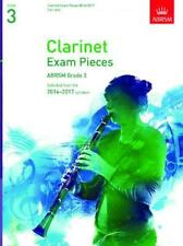 ABRSM Clarinet Exam Pieces 2014-2017 Grade 3 (Part only) AB95142