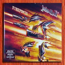 Judas priest Feuerkraft exklusive limitierte Orange & BLACK Vinyl 2LP versiegelt