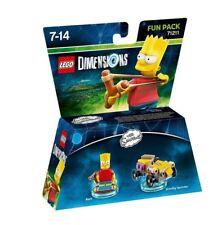 LEGO Dimensions Bart The Simpsons amusant paquet NOUVEAU scellé (PS4/ PS3/
