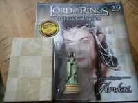 Eaglemoss Lord Of The Rings Chess Set 1 - Issue 29 Arwen - white queen