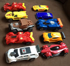 Set Of (10)Mattel Hot Wheels Cars 2011-2017.8 For McDonalds,2 For General Mills.
