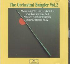 Mozart Symphony No.32. Brahms Hungarian Dance No.1. Mahler promo cd