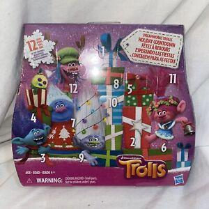DreamWorks Trolls Holiday Countdown Advent Calendar Christmas 12-Days of Toys