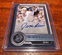 JIM RICE ON CARD #HOF #AUTO SP /299 2019 TOPPS MUSEUM COLLECTION #AA-JR RED SOX