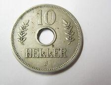10 Heller 1909 J Deutsch Ostafrika