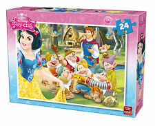 Childrens 24 Piece Disney Jigsaw Puzzle - Snow White & The Seven Dwarves 5242A