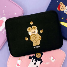 "15"" Jucy Bear Neoprene Padded Notebook Laptop Sleeve Bag Brief Case Document"