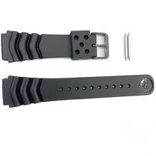 Seiko SRP641P Rubber Black Watch Strap Band R002031M9 22mm