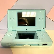 Nintendo DS Lite Ice Blue Console with Stylus No Charger! Working Order