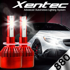 XENTEC LED HID Foglight kit 898 White for 2006-2009 Pontiac Solstice