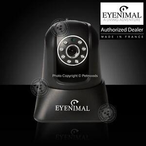 Eyenimal Pet Vision Live Wireless Camera Dog Cat WiFi 2 Way Audio & Night Vision