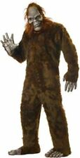 Big Foot Adult Costume Brown Faux Fur One Size