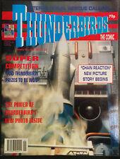 Thunderbirds la Bande Dessinée #33 VF 1st Imprimé Fleetway Comics