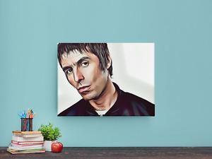 LIAM GALLAGHER Canvas Print Portrait 60cmx40cm Indie Music Icon Wall Art OASIS