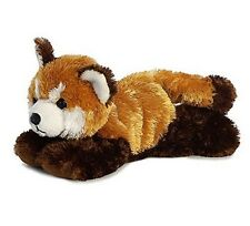 Aurora World 8'' Plush LITTLER RED PANDA MINI FLOPSIE ~NEW~