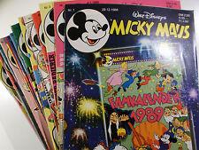AUSWAHL = Micky Maus Comic Hefte 1989 Nr. 1 - 52 mit / ohne Beilagen