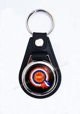 BRITISH MOTOR CORPORATION FAUX LEATHER KEY RING / KEY FOB.CLASSIC BRITISH CARS.