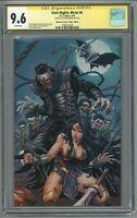 Dark Nights Metal #6 CGC 9.6 SS Unknown Comics Virgin Edition Signed Kirkham