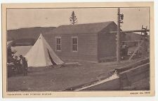 C.E.F. Mobilisation Camp Pumping Station VALCARTIER Quebec Canada WWI Postcard