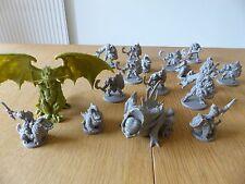 B-Paysandú Kickstarter Monster Set + esculpido Avatar del abismo & Dragon!