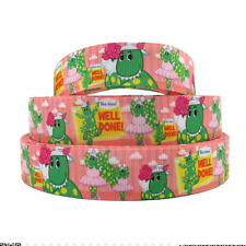 Dorothy the Dinosaur Ribbon 1m long 25mm wide The Wiggles