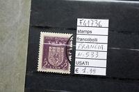 FRANCOBOLLI FRANCIA USATI N°533 (F41736)