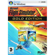 Microsoft Flight Simulator X Gold Edition, PC Games, New, Free Shipping, Sealed