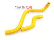 OBX Silicone Radiator Hose Kit 92-95 Honda Civic LX DX EX D16 All Yellow