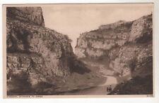 Entrance To Gorge - Cheddar Photo Postcard c1910