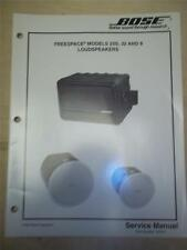 Bose Service Manual~FreeSpace 25S/32/8 Loudspeakers~Original