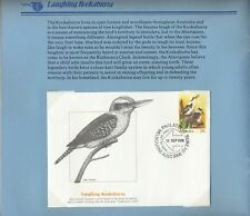 Stamps 20c PSE's overprinted relevant bird set of 7 in limited edition folder