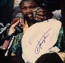 Joe Frazier Vs MUHAMMAD Ali Boxing Signed 16x20 Photo SSG COA