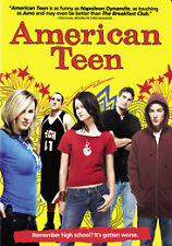 American Teen WIDESCREEN FACTORY SEALED DVD! FREE SHIPPING AND TRACKING INCLUDED