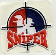 PAINTBALL RWB ** SNIPER ** PATCH Sticker