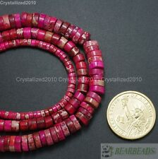 Natural Sea Sediment Jasper Gemstone Heishi Spacer Loose Beads 4mm 6mm 8mm 16""