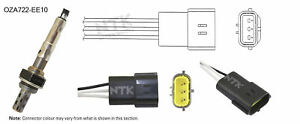 NGK NTK Oxygen Lambda Sensor OZA722-EE10 fits Hyundai Accent 1.5 i 12V (X-3)