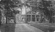 Cossayuna New York Oaks Historic Bldg Antique Postcard K34189