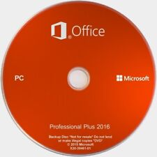 Microsoft Office 2016 Professional Plus - Disc Format