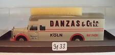 Brekina 1/87 Mercedes Benz L6600 Möbel LKW Koffer Danzas & Cie Köln OVP #3133