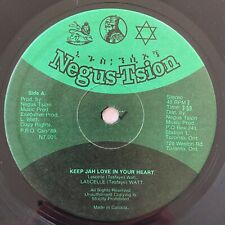 NEGUS TSION BAND Keep Jah Love In Your Heart NEGUS-TSION 45 Roots Regge HEAR