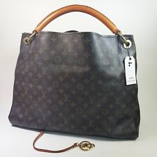 Authentic Louis Vuitton Artsy GM Monogram M40259 Genuine Shoulder Tote Bag LC416