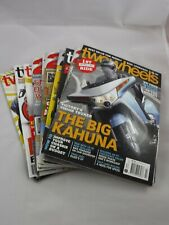Two Wheels Magazine Motorcycle Bulk Lot of 10. See Pictures For Issues Included