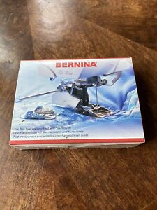 BERNINA WALKING FOOT  2 SOLE VERSION SOWING MACHINE ATTACHMENT NEW! SAVE