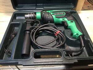 """Hitachi (renamed Metabo) FDV 16VB2 5/8"""" Electric Hammer Drill with case Handle"""