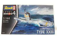 Revell Plastic Model German Submarine Type XXIII WW II Model Kit 1/144 05140