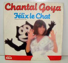 45 TOURS - CHANTAL GOYA  FELIX LE CHAT