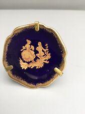Miniature LIMOGES Plate.