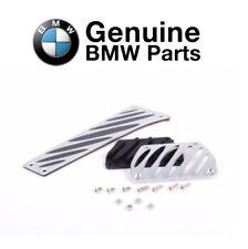 Aluminum Pedal Pads Set Genuine for BMW E46 E53 E70 E71 E82 E83 E90 E91 E93 F25