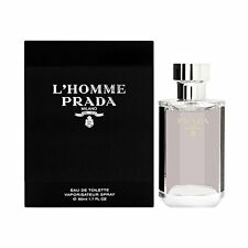 L'Homme Prada Milano By Prada 1.7 Oz Eau De Toilette Spray For men SEALED NEW