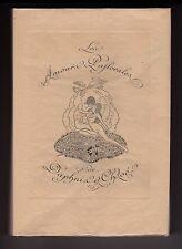 curiosa Les Amours de Daphnis et Chloé 27 gravures de JEAN DULAC erotica